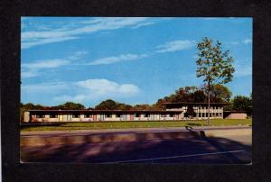 NY Esquire Motel Latham NEW YORK Postcard Carte Postale