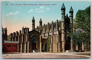 New Haven Connecticut~Towering Spires on Gothic Old Library~Yale Univ~c1910 PC