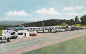 Floridian Motel & Restaurant , ST. CLAIRSVILLE , Ohio , 40-60s