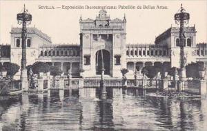 Spain Sevilla Exposicion Iberoamericana Pabellon de Bellas Artes