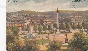 STUTTGART , Germany, 1900-10s ; Residenzschloss ;  TUCK 166 B