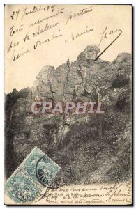 Old Postcard The Lion Rock Ouilly
