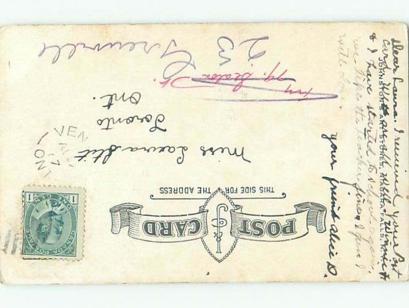 Pre-1907 SPUZZUM BRIDGE Spuzzum Near Yale & Hope BC W5344