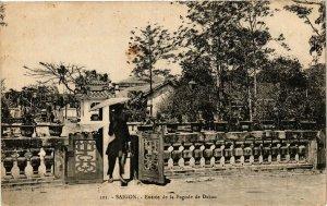 VIETNAM INDOCHINE - Saigon - Entrée de la Pagode de Dakao (190306)