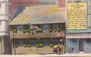 Massachusetts Boston The Paul Revere House