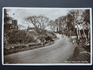 Scotland KIRK YETHOLM The Mill Brae c1940's RP by A.R. Edwards & Son 3390