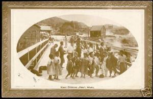 new zealand dominion, WHAKA, Maori Children Haka 1910s