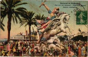 CPA Carnaval de NICE - Char de S.M. Carnaval - Spagnol (198820)