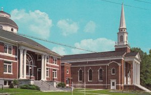 MILAN , Tennessee , 1950-60s ; First Baptist Church