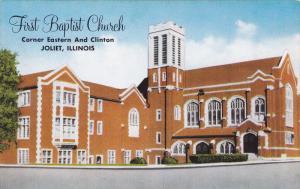 First Baptist Church, Corner Eastern And Clinton, Joliet, Illinois, 1900-1910s