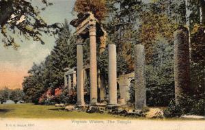 Virginia Waters The Temple Ruins Postcard