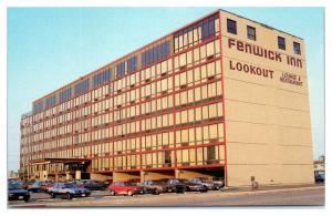 1980s Fenwick Inn and Lookout Lounge and Restaurant, Ocean City, MD Postcard