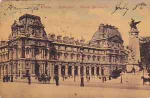 PARIS, Tuileries, Statue Gambetta, France, PU-1907