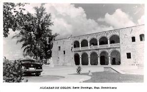 Dominican Republic Old Vintage Antique Post Card Alcazar de Colon Santo Domin...