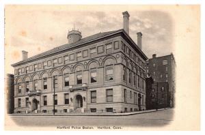 Connecticut  Hartford , Police Station