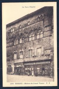 Great Huntsman House Cordes Tarn France unused c1920's