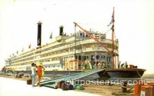 Mississippi Queen Ferry Boat, Boats Postcard Postcards  Mississippi Queen