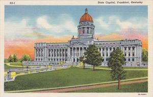 Kentucky State Capitol Building Curteich
