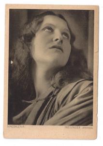 Germany Oberammergau Actor Johanna Preisinger Mary Magdalene