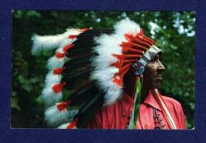 NC Steve Saunooke Cherokee Indian NORTH CAROLINA PC