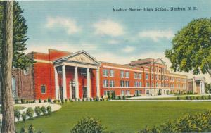 Senior High School at Nashua NH, New Hampshire - Linen