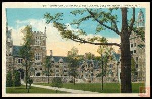 Dormitory Quadrangle, West Campus, Duke Univ, Durham, NC