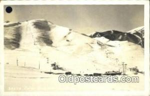 Dollar Mountain, Sun Valley Idaho, ID USA  Postcard Post Card, Carte Postale,...