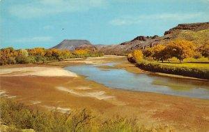 Rio Grande north of Las Cruces - Las Cruces, New Mexico NM