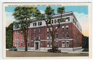 Portland, Maine, The Pilgrim, An Apartment Hotel, West Street