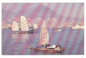 View Of Harbor, Hong Kong, China, 40-60s