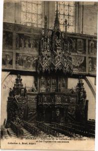 CPA ANGERS - Interieur de la Cathédrale - La Chaire et les Tapisseries (207960)