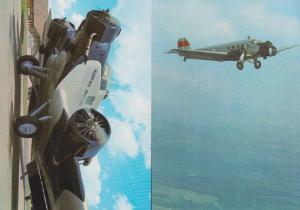 Junkers JU52 German Aircraft 2x Stuttgart Postcard s