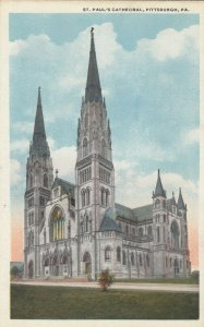 PITTSBURGH , Pennsylvania, 1900-10s; St. Paul's Cathedral