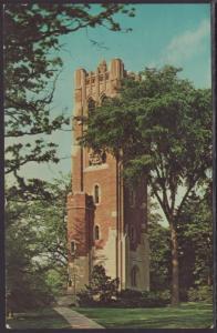 Tower Micighan State University,East Lansing,MI Postcard BIN