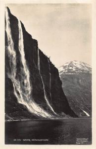 Norway De Svy Sostre Geirangerfjord postcard