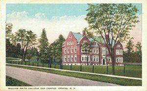 USA William Smith College And Campus Geneva New York 04.81