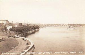 RP: DAVENPORT , Iowa , 1930-40s ; Waterfront