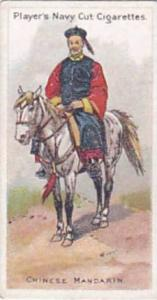Player Vintage Cigarette Card Riders Of The World 1905 No 22 Chinese Mandarin
