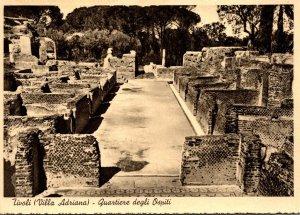 Italy Tivoli Villa Adriana Quartiere degli Ospiti