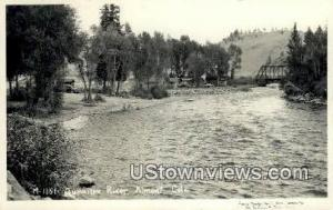Gunnison River, Real Photo