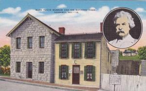 Mark Twain Museum and Boyhood Home, Hannibal, Missouri, 1930-1940s