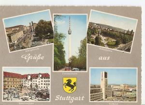 Postal 033570 : GruBe aus Stuttgart