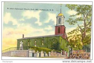 St. John's Episcopal Church, Portsmouth, New Hampshire, NH, Linen