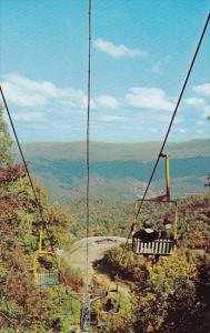Tennessee Gatlingburg Ski Lift At Gatlinburg