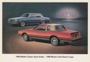 1982 Malibu Classic Sport & 1982 Monte Carlo Sport Coupe