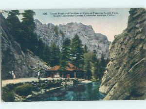 Unused Divided-Back SOUTH CHEYENNE CANON Colorado Springs CO ho0140