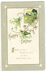 Happy Easter, 1911 used Postcard