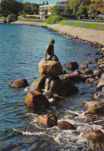 Denmark Copenhagen The Little Mermaid