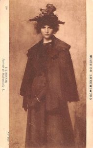 JJ Henner Portrait de Maemoiselle L 1979