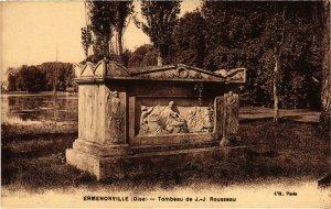 CPA Ermenonville- Tombeau de J.J. Rousseau FRANCE (1020491)